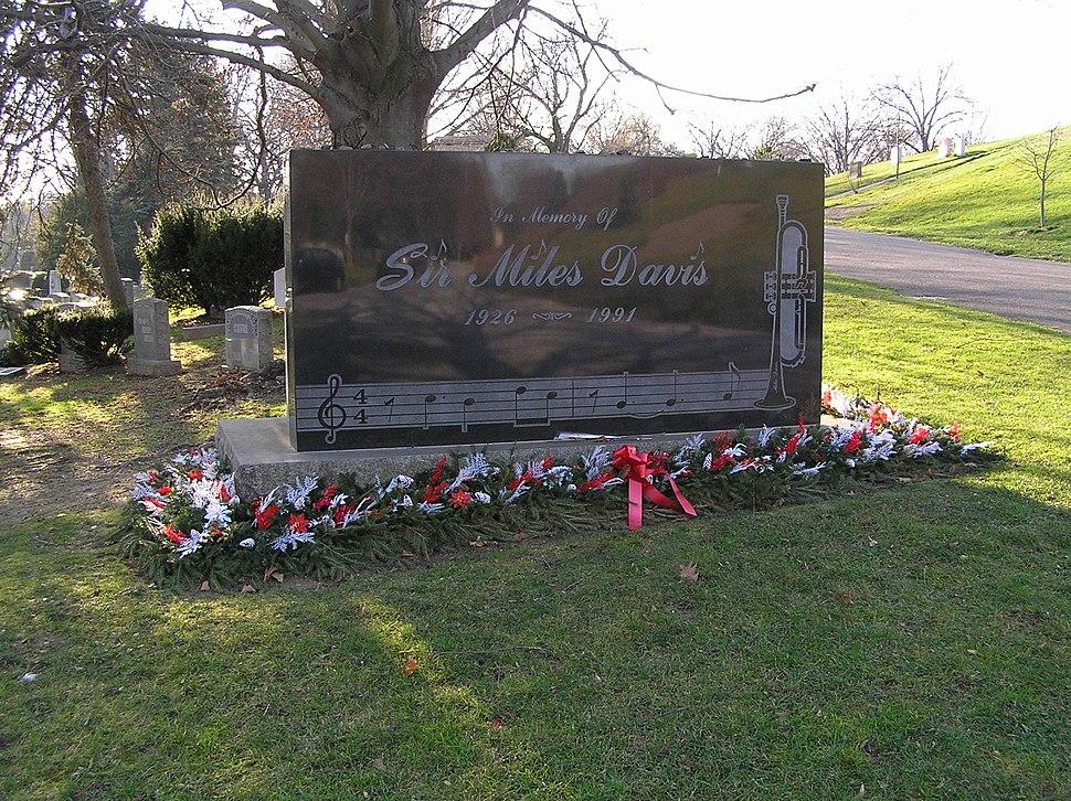 Sir Miles Davis Gravesite