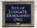 Site of Ludgate demolished 1760.jpg