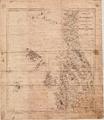 Sjøkart over kysten utenfor Karmøy og Haugesund, fra Rambaskårfjellet til Ryvarden, fra 1865.png
