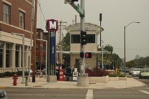 Skinker station - Image: Skinker metrolink