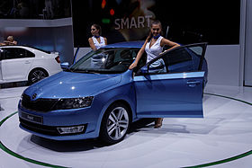 Skoda - Rapid - Mondial de l'Automobile de Paris 2012 - 002.jpg