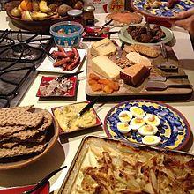 Smörgåsbord foods & Smörgåsbord - Wikipedia