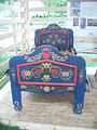 Smithsonian Folklife Festival 2013 - painted bed.JPG