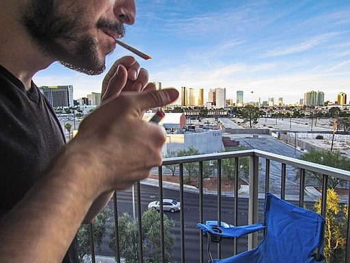 Smoking Pot in Vegas