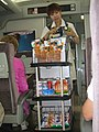 Snack vendor on the Shinkansen. 2005 (26321781190).jpg