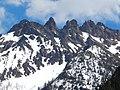 Snagtooth Ridge, North Cascades as seen from North Cascades Highway.jpg