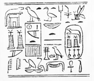 Sobekneferu - Image: Sobekneferu Cylinder Petrie