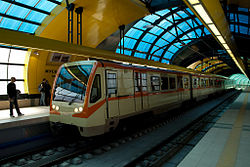Sofia metro at Musagenitsa.jpg