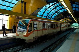 Sofia Metro rapid transit system of Sofia, Bulgaria