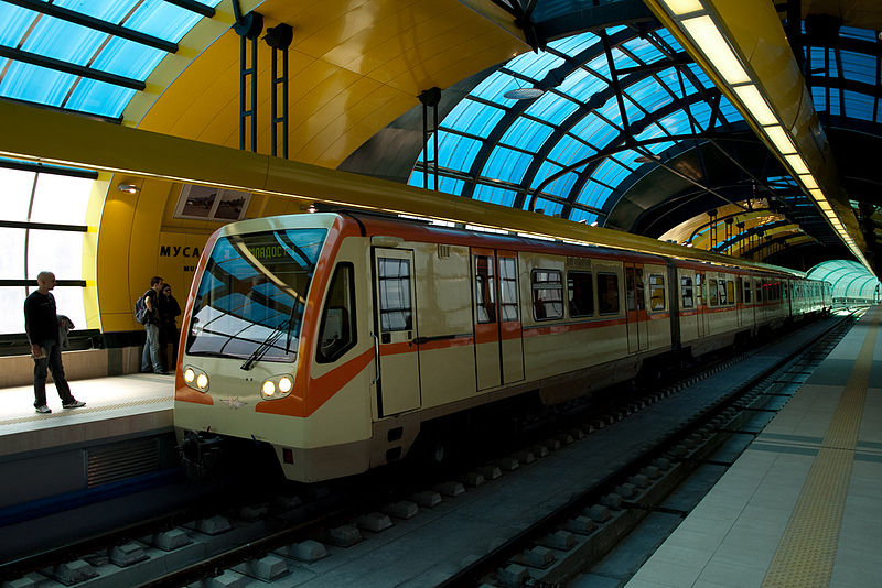 File:Sofia metro at Musagenitsa.jpg