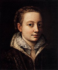 Portrait of Minerva Anguissola