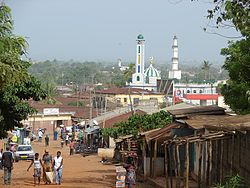 A mosque in Sokodé