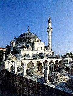 Sokollu Mehmed Pasha Mosque, Kadırga 16th century Turkish mosque