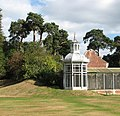 Somerleyton Hall - pagoda by aviary - geograph.org.uk - 1506664.jpg