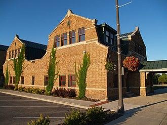 Thief River Falls, Minnesota - Soo Line depot, now City Hall