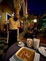 Sopa de lima (Yucatan chicken lime soup), restaurante Amaro, Merida, Yucatan, Mexico.jpg