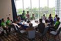 South Asian (Indic) Wikimedian meetup, Wikimania 2015, Mexico City.JPG