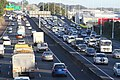 Southern Motorway Auckland traffic - copyright-free photo released to public domain.jpg