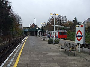 Southfields tube station