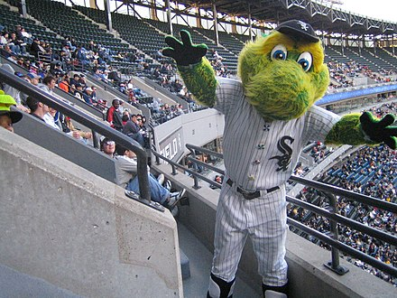 Southpaw, the mascot of the Chicago White Sox Southpaw.jpg