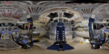Space Shuttle Discovery flight deck in OPF1.png