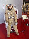 Space suits in Memorial Museum of Cosmonautics, Moscow, Russia, 2016 34.jpg
