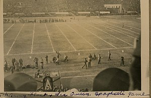 Spaghetti Bowl (American football) - Army Float and WAC Queen