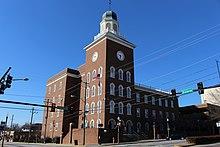 Spalding County Courthouse (NE corner).JPG