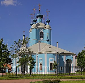 Artemy Volynsky - St Sampson's Cathedral, the burial place of Artemy Volynsky