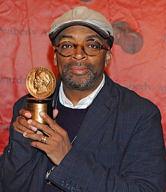 Spike Lee - Lee with his Peabody Award, 2011