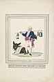 Spotprent op Talleyrand, 1813 Elf heit de klok - Elf (titel op object), RP-T-00-3837.jpg