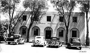 Springerville, Arizona - Springerville Federal Building, 1938