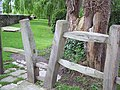 Squeezer Stile at Winterborne Zelston - geograph.org.uk - 457442.jpg