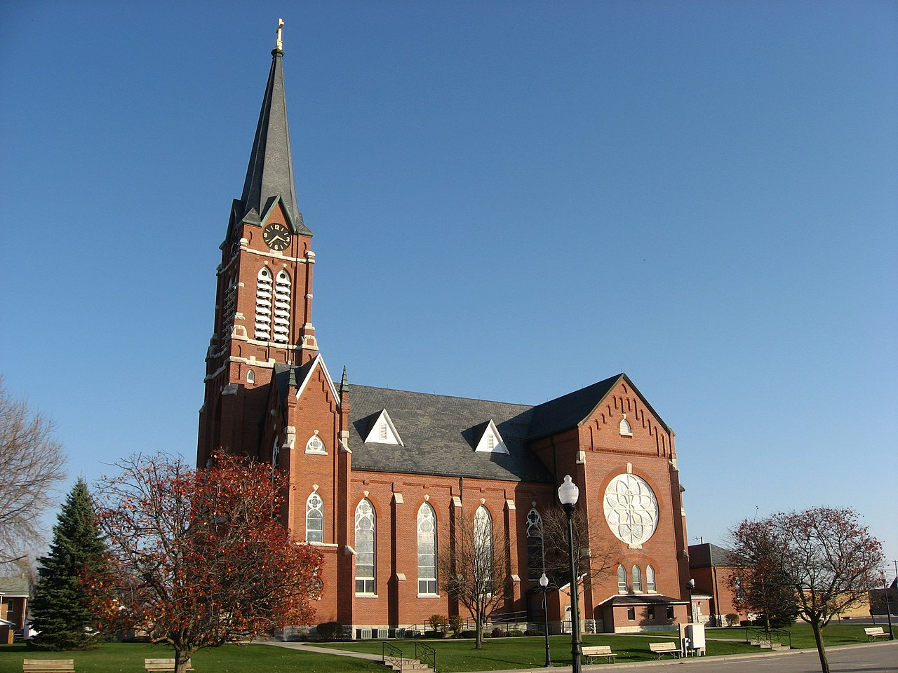 FileSt Henry Catholic Church Sidejpg Wikimedia Commons