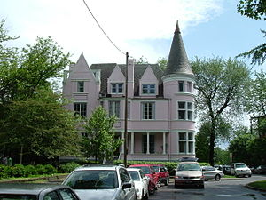 St. James–Belgravia Historic District - The Pink Palace