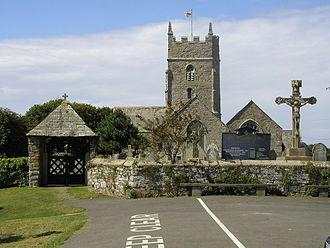 Marhamchurch - St Marwenne Church, Marhamchurch