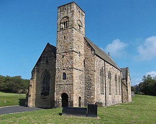 St Peters Church, Monkwearmouth Church in England, UK