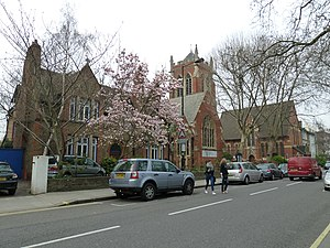 St Dionis Backchurch - The modern reincarnation in Parsons Green