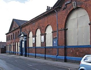 Mill Street Barracks, St Helens