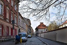 St Mark street, Krakow Old Town.JPG