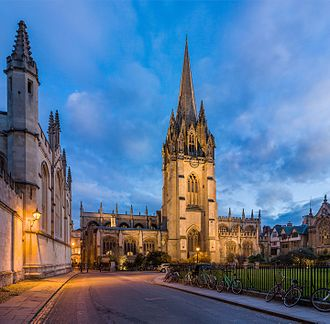 University Church of St Mary the Virgin - Image: St Mary's Church, Radcliffe Sq, Oxford, UK Diliff