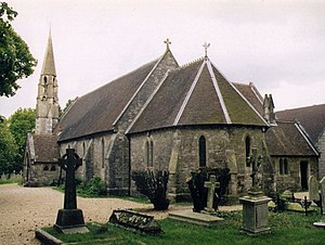 Harold Davidson - St Mary's Church, Sholing