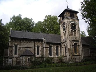 St Pancras, London - Old St Pancras Parish Church.