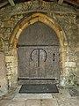 St Peter's Church, Heversham, Doorway - geograph.org.uk - 1246712.jpg