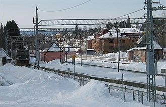Stabekk - Image: Stabekk stasjon