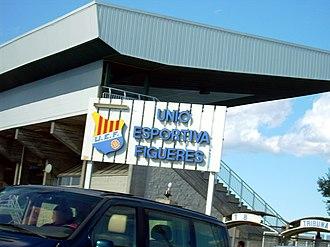 UE Figueres - Vilatenim stadium