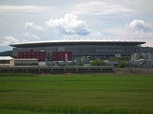 Rhein-Neckar-Arena - Image: Stadion Rhein Neckar Arena Sinsheim