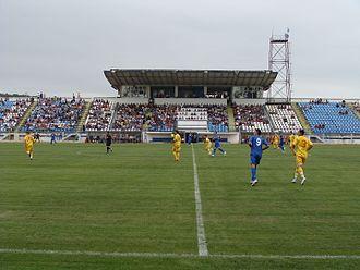 Stadionul 1 Mai (Slatina) - Image: Stadionul 1 Mai a