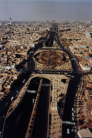 Stadtautobahn Riyadh Saudi Arabien