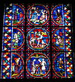 Stained glass from the Cathedral of Soissons, French, 13th century - Corcoran Gallery of Art - DSC01210.JPG
